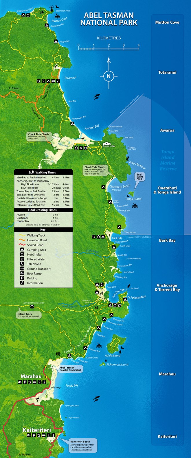 Abel-Tasman-National-Park-Map-North-to-South